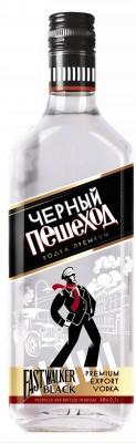 Водка Черный Пешеход в баре Нижний Новгород